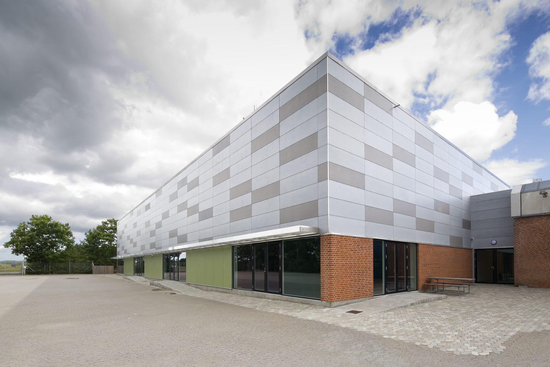 Stenløse Privatskole, Ny Idrætshal, Stenløse - Perspektiv