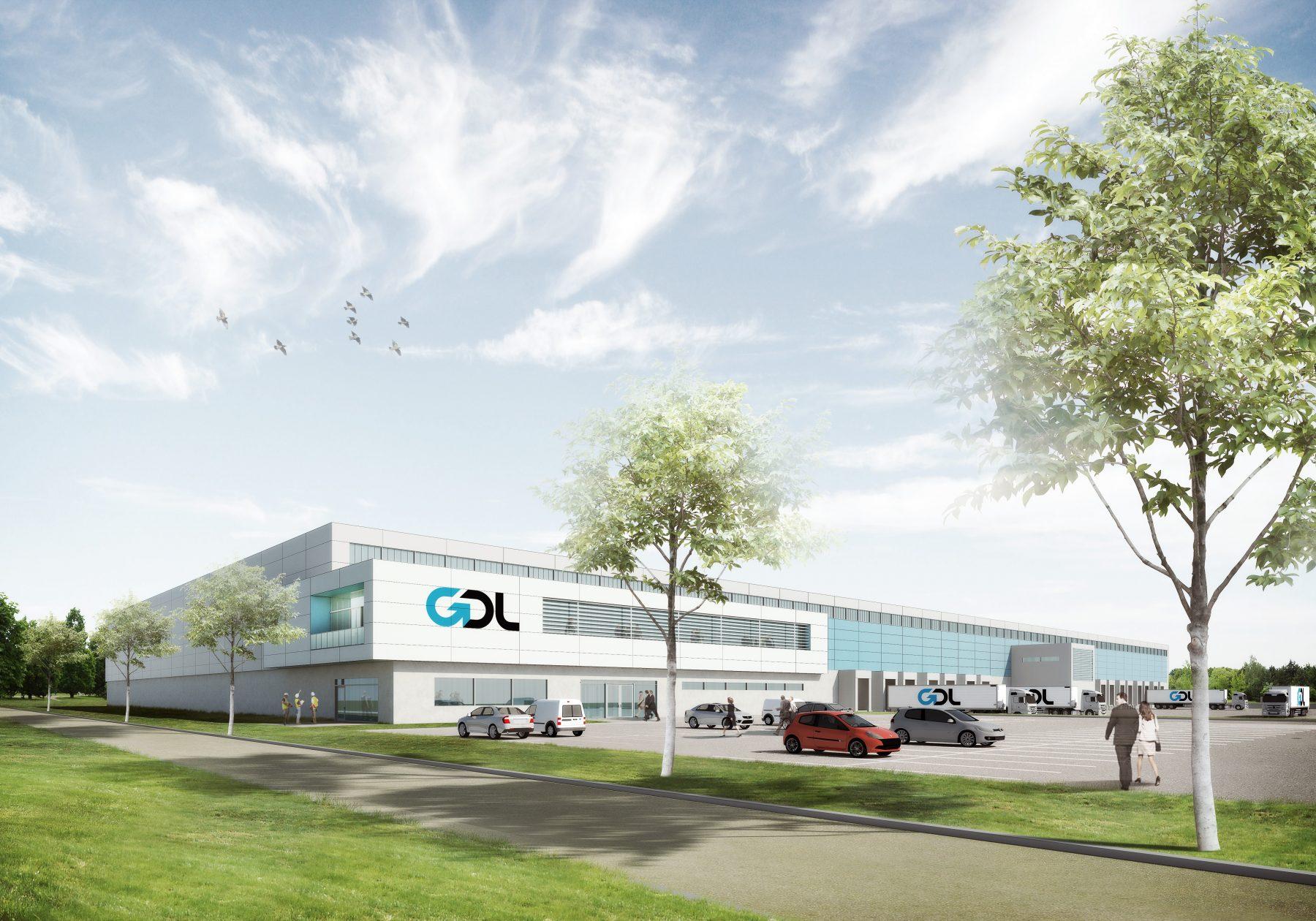 GDL Logistikterminal, Kristianstad - visualisering