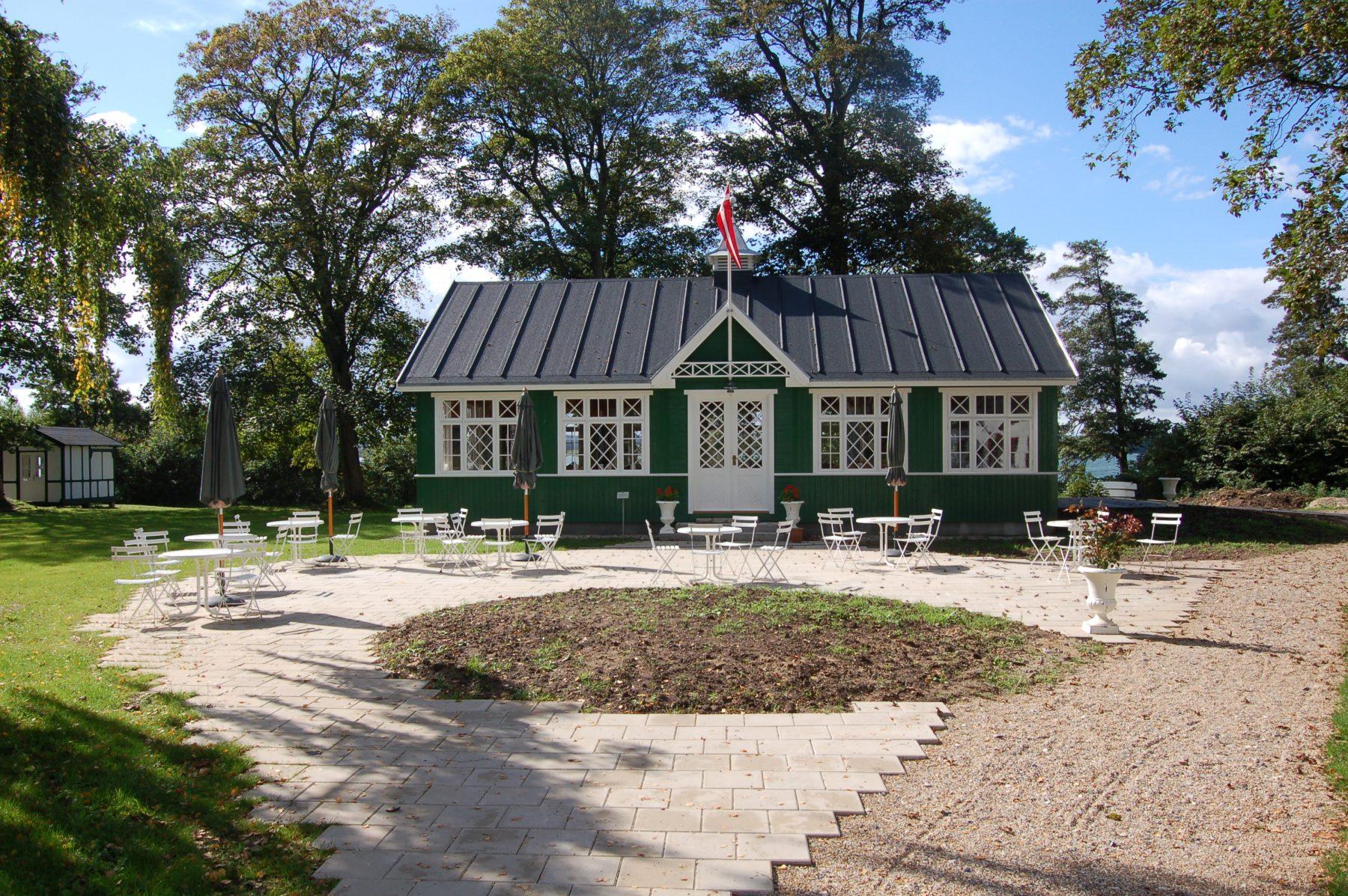 Vestermølle, Skanderborg - Riddersalen facade